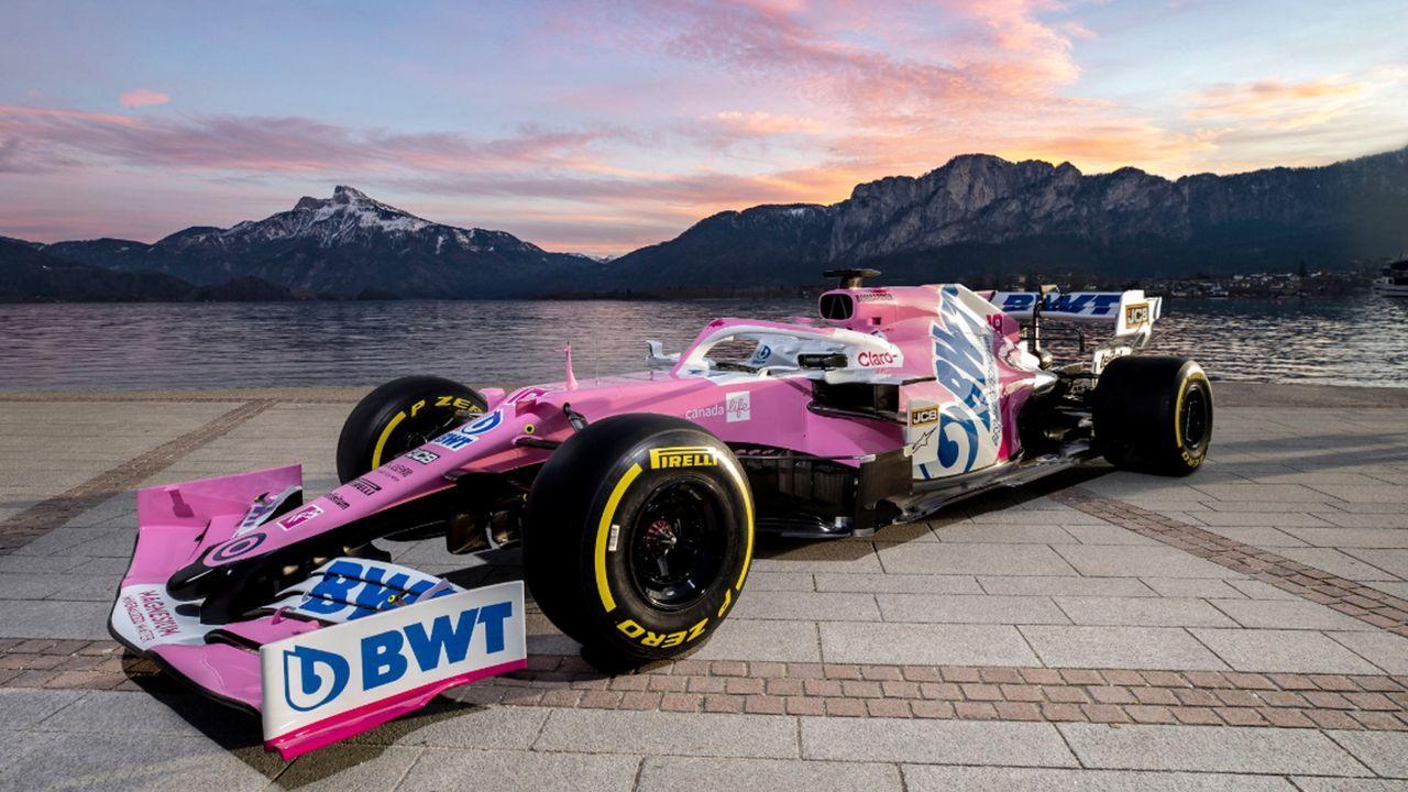 BWT Racing Point RP20 - Bildquelle: Twitter/formula1