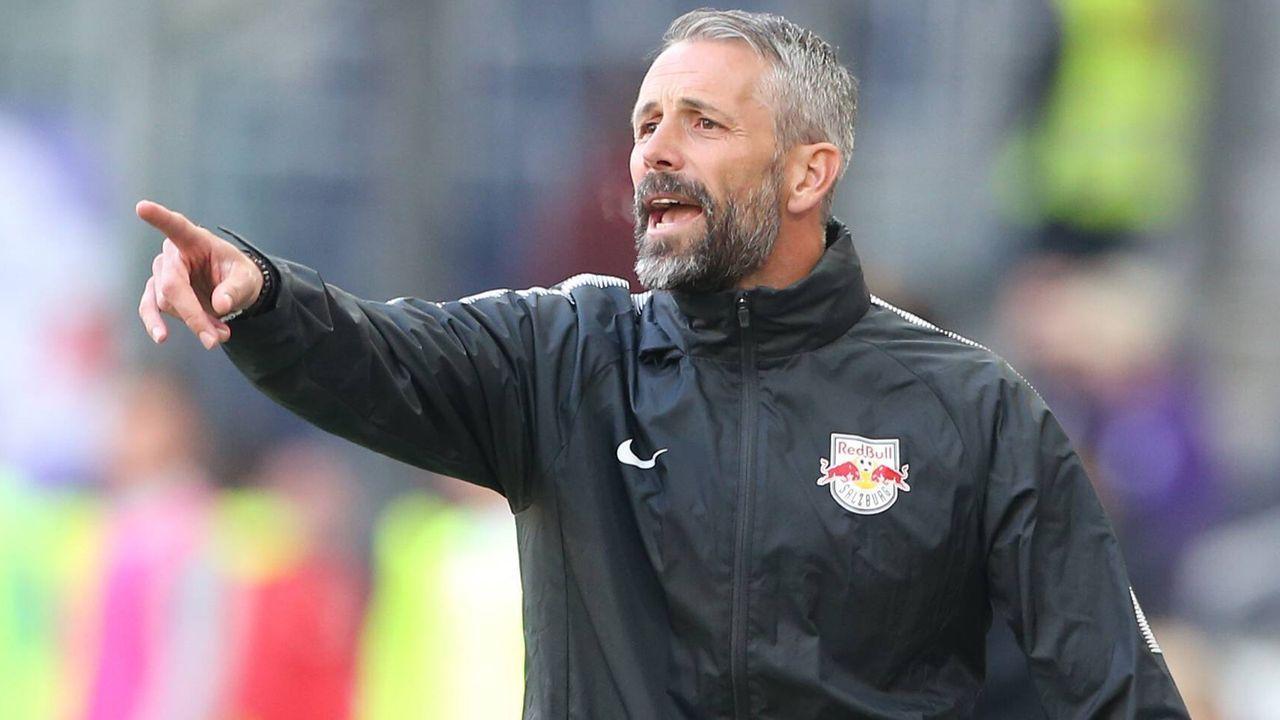 Trainerkandidat Marco Rose (Red Bull Salzburg) - Bildquelle: imago images / GEPA pictures