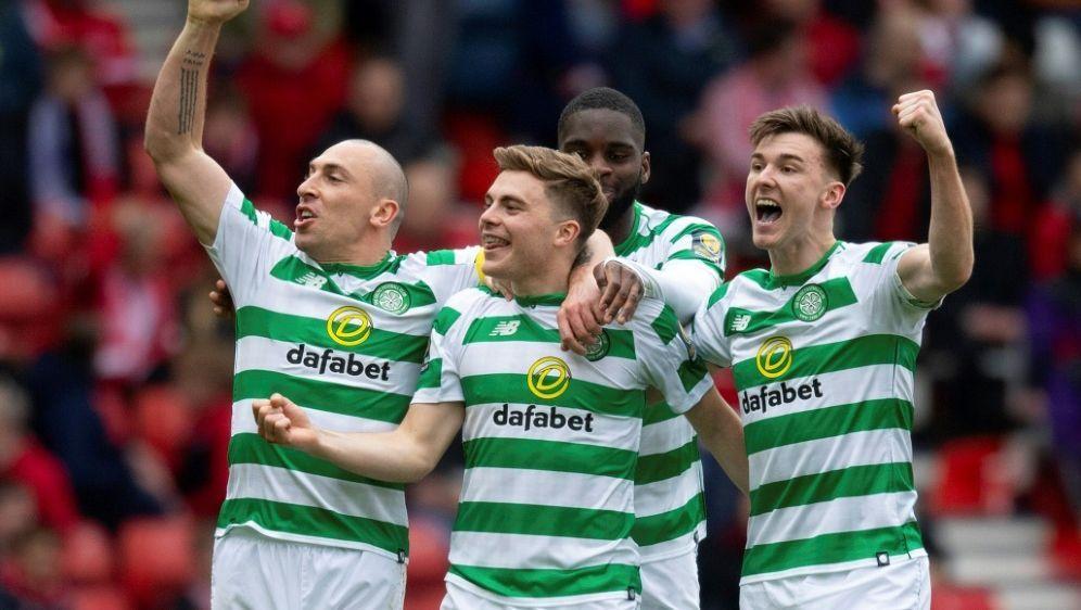 Celtic sichert sich die schottische Meisterschaft - Bildquelle: PIXATHLONPIXATHLONSID