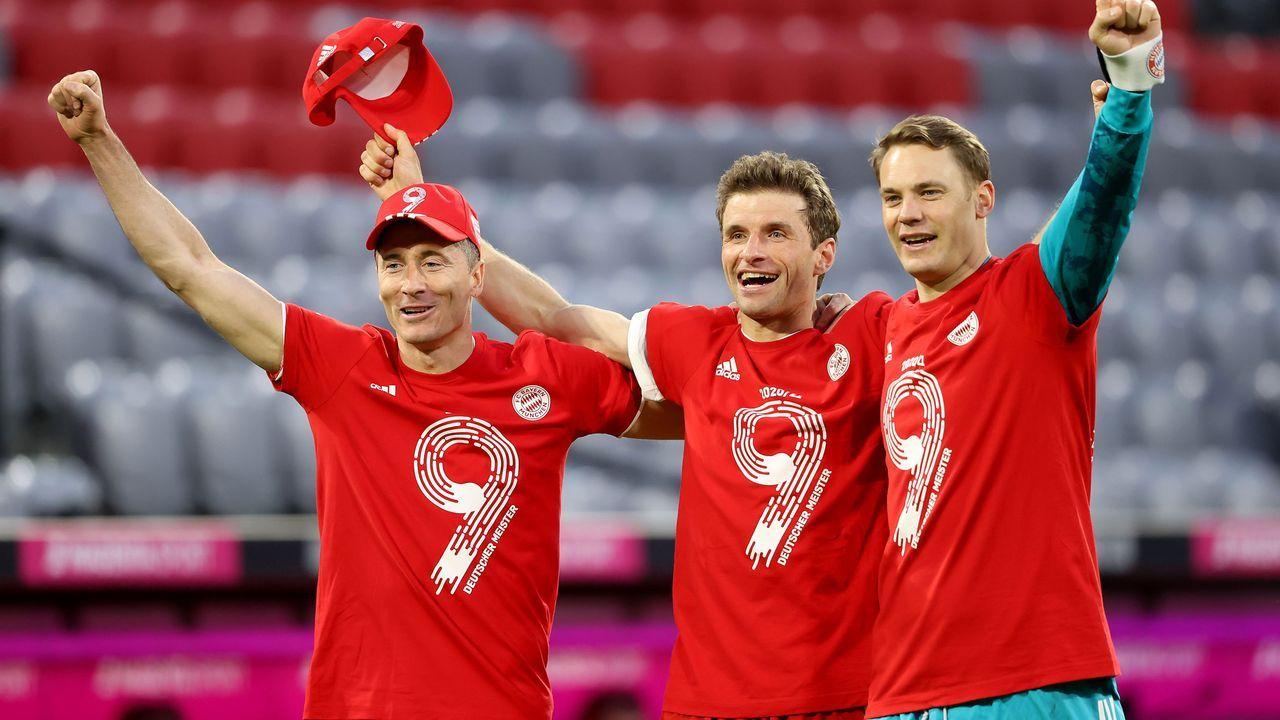 Platz 2: FC Bayern München - Bildquelle: 2021 Getty Images