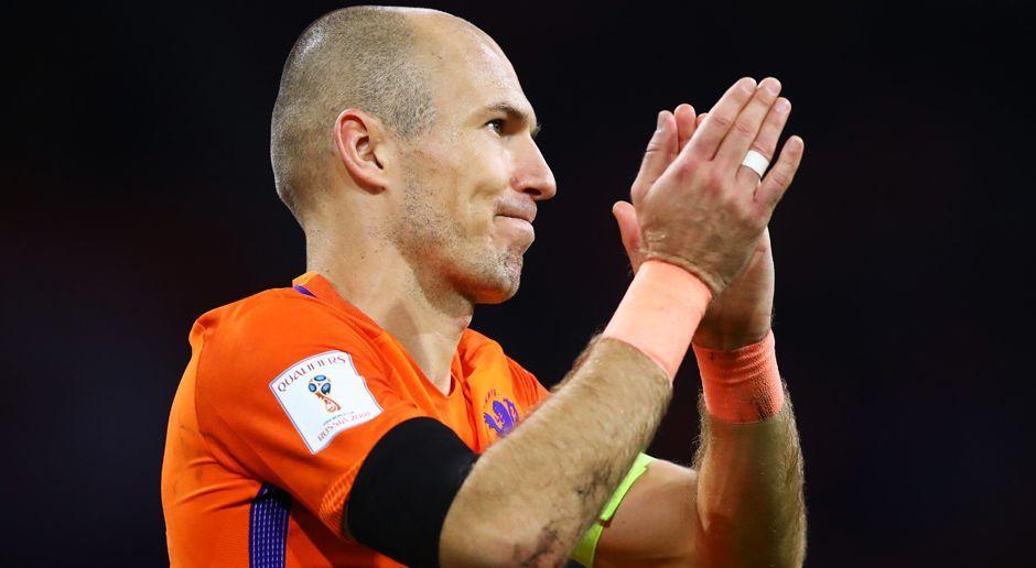 Rechtsaußen: Arjen Robben - Bildquelle: 2017 Getty Images