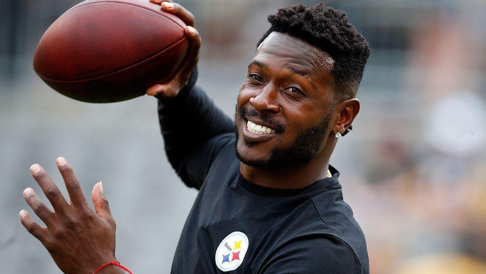 Will er die Pittsburgh Steelers verlassen? Antonio Brown könnte nach neun Ja... - Bildquelle: Getty Images