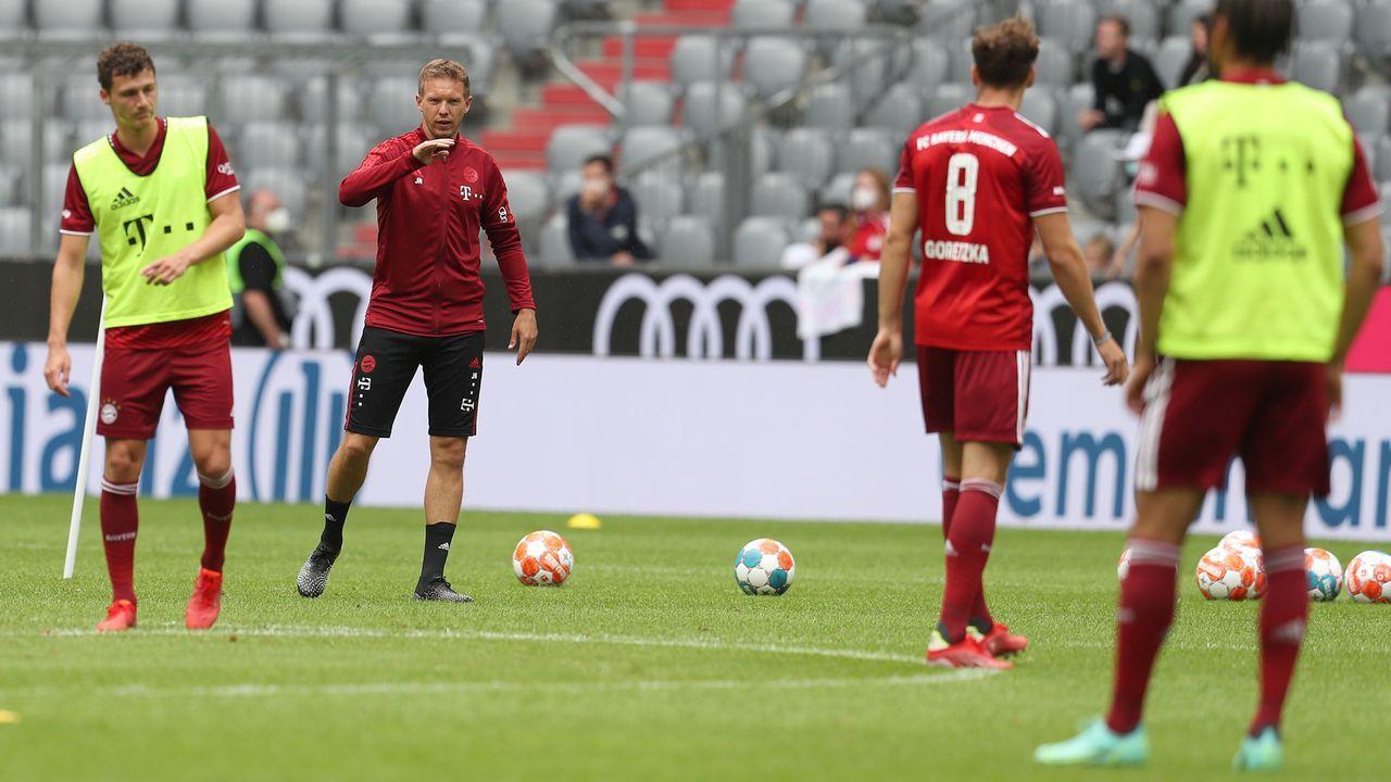 Zu großes Risiko? Jungtrainer Nagelsmann beim Bayern-Star-Ensemble - Bildquelle: 2021 Getty Images