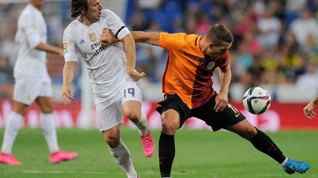 Lukas Podolski (Galatasaray) - Bildquelle: 2015 Getty Images