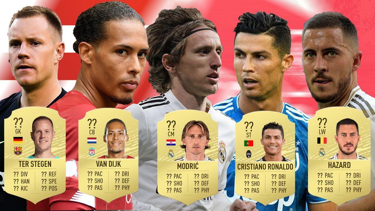 Die besten Spieler in FIFA 20  - Bildquelle: Getty