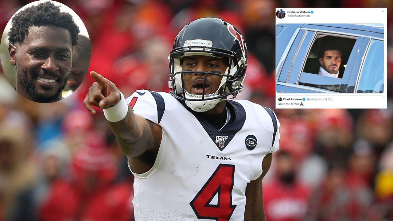 Antonio Brown zu den Texans? Watson gefällt das - Bildquelle: imago images/Icon SMI