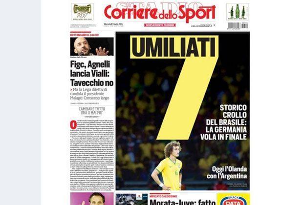 Corriere dello Sport (Italien) - Bildquelle: Corriere dello Sport (Italien)