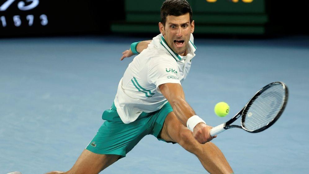 Novak Djokovic wird in Miami nicht antreten - Bildquelle: AFPAFPDavid Gray