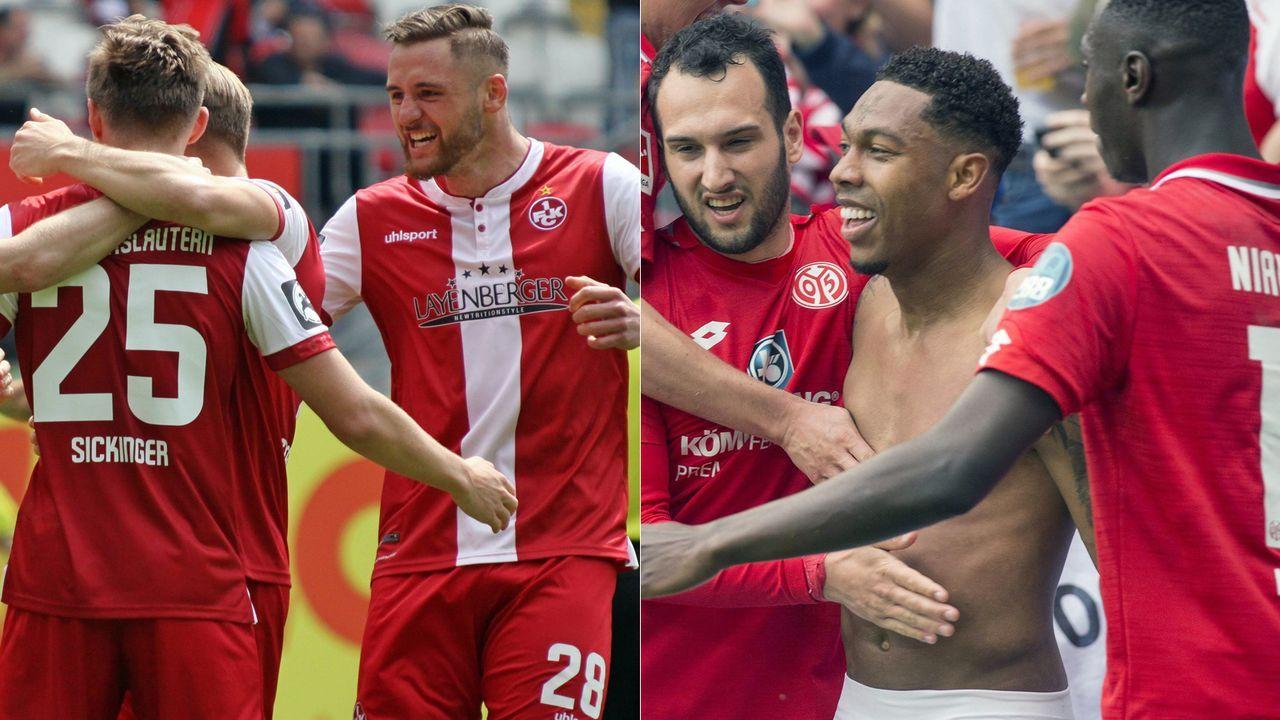 1. FC Kaiserslautern - 1. FSV Mainz 05 - Bildquelle: Imago