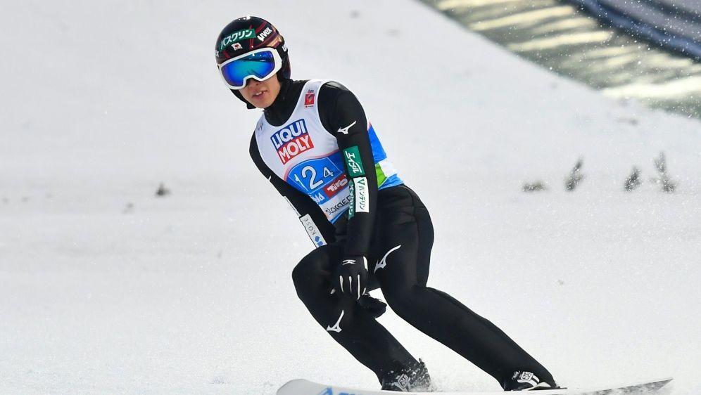 Ryoyu Kobayashi gewinnt den Gesamtweltcup im Skispringen - Bildquelle: AFPSIDJOE KLAMAR