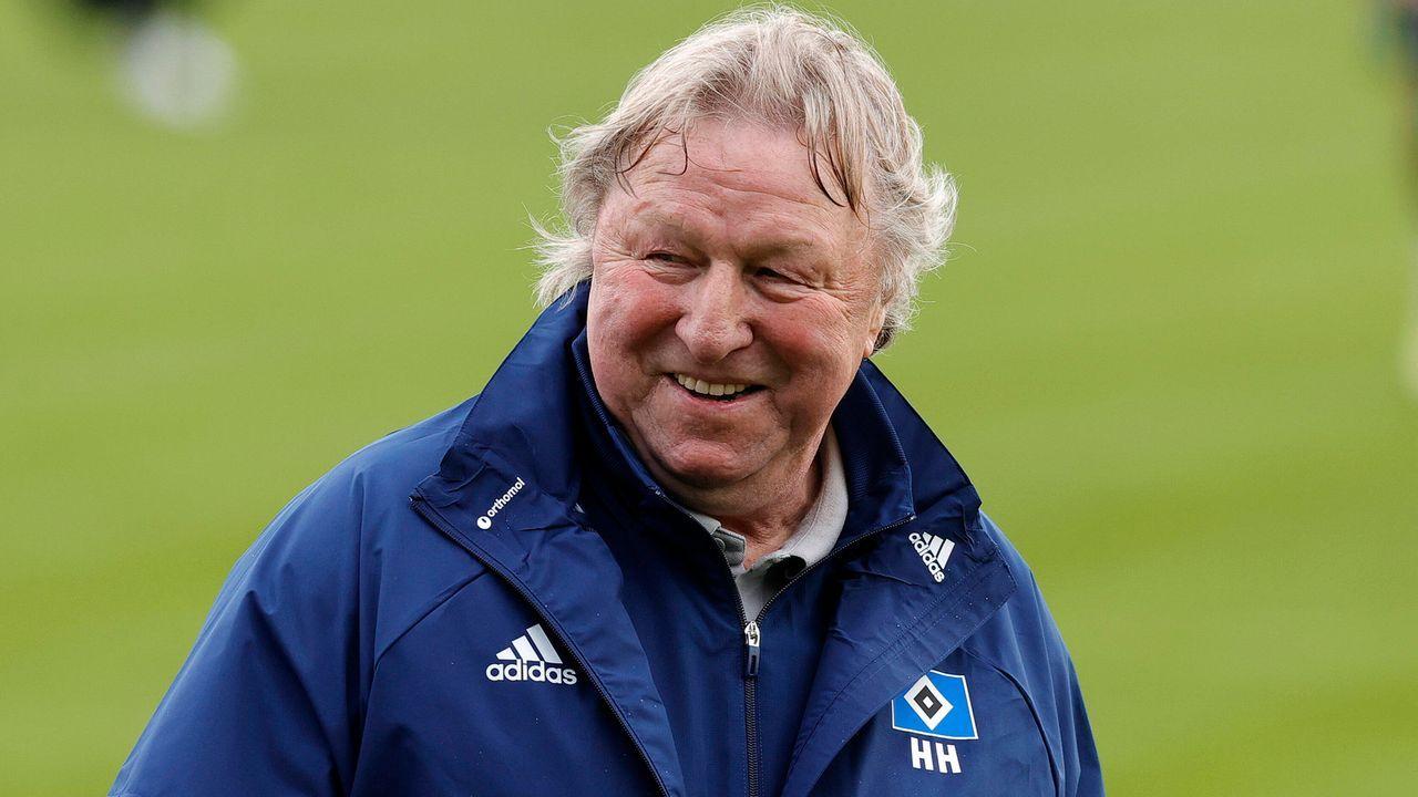 Fünf nicht ganz ernst gemeinte Gründe, warum der HSV mit Horst Hrubesch aufsteigt - Bildquelle: imago images/Michael Schwarz