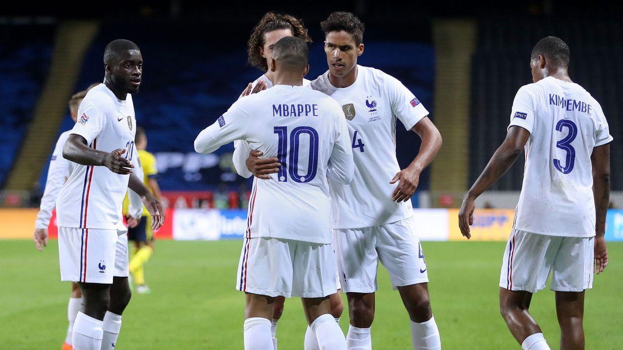 Frankreich (FIFA-Weltrangliste Platz 2) - Bildquelle: 2020 Getty Images