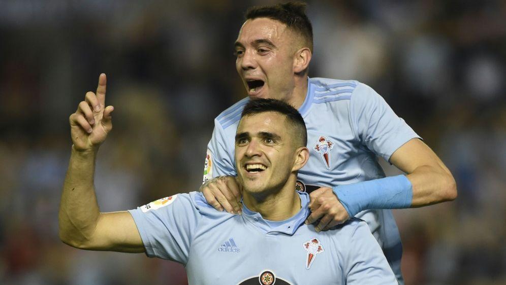 Maxi Gomez und IagoAspas treffen für Celta Vigo - Bildquelle: AFPSIDMIGUEL RIOPA