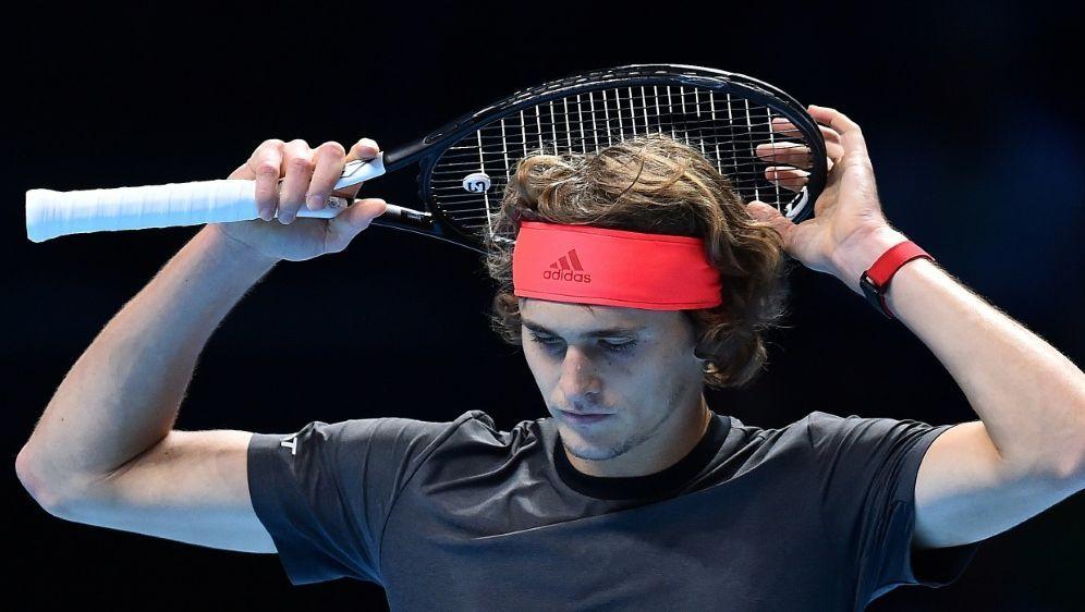 Alexander Zverev verlor gegen den Serben Novak Djokovic - Bildquelle: AFPSIDGlyn KIRK