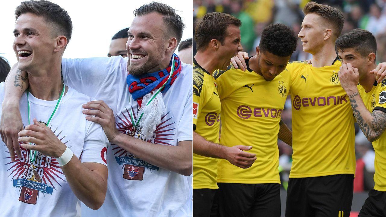 KFC Uerdingen - Borussia Dortmund - Bildquelle: Imago