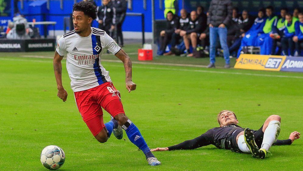 Jeremy Dudziak wird dem HSV verletzt lange fehlen - Bildquelle: Imago