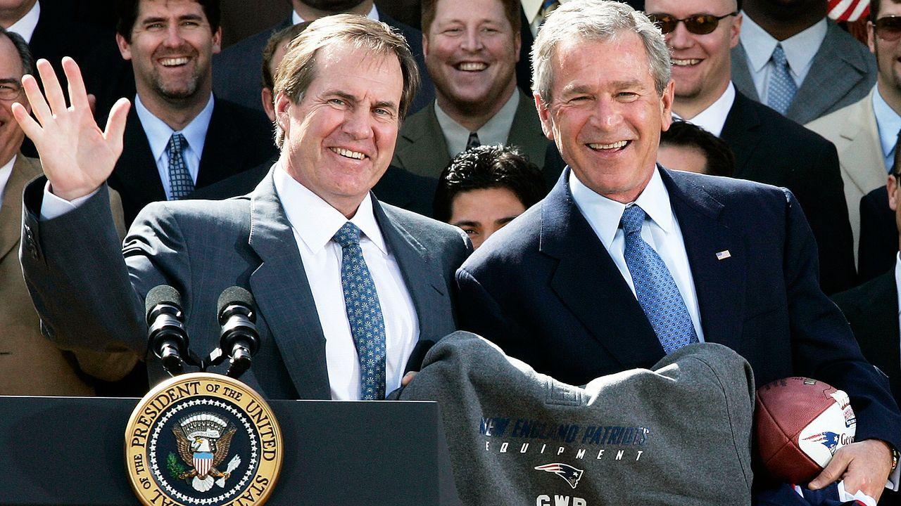 Heimliche Kabinenbesuche beim Gegner - Bildquelle: 2005 Getty Images