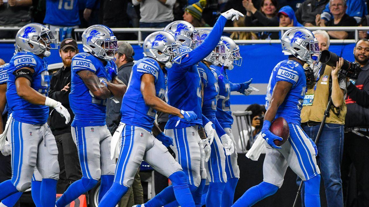 Detroit Lions - Bildquelle: imago images/Icon SMI
