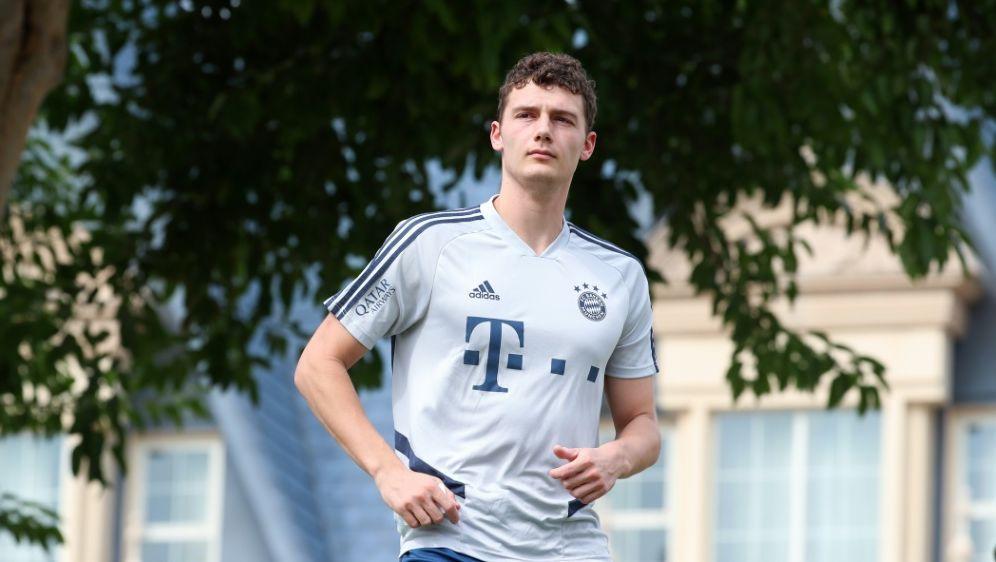 Benjamin Pavard ist zurück im Training des FC Bayern - Bildquelle: AFPSIDKARIM JAAFAR