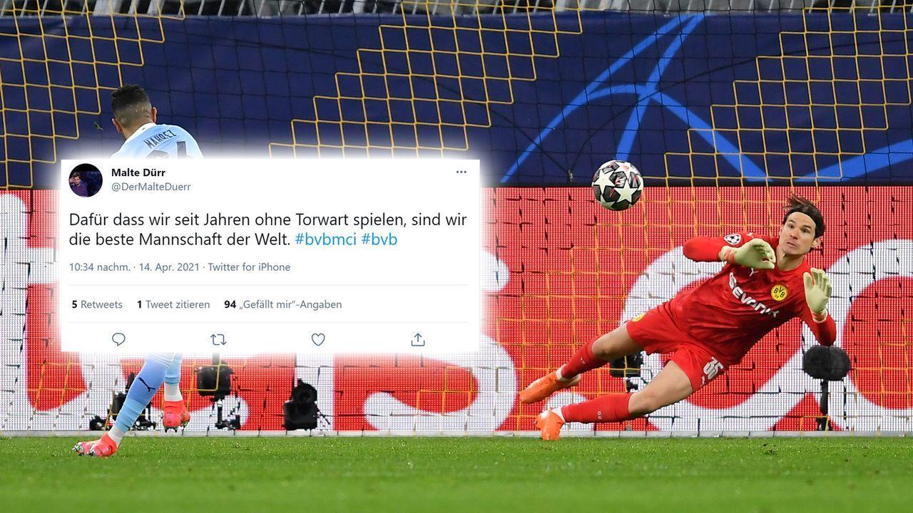 Dortmund spielt zu Zehnt - Bildquelle: 2021 Getty Images