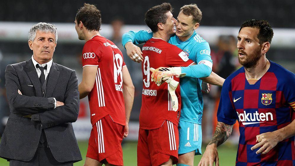 Beide jubelten im Achtelfinale der Champions League und dennoch muss sich de... - Bildquelle: Imago