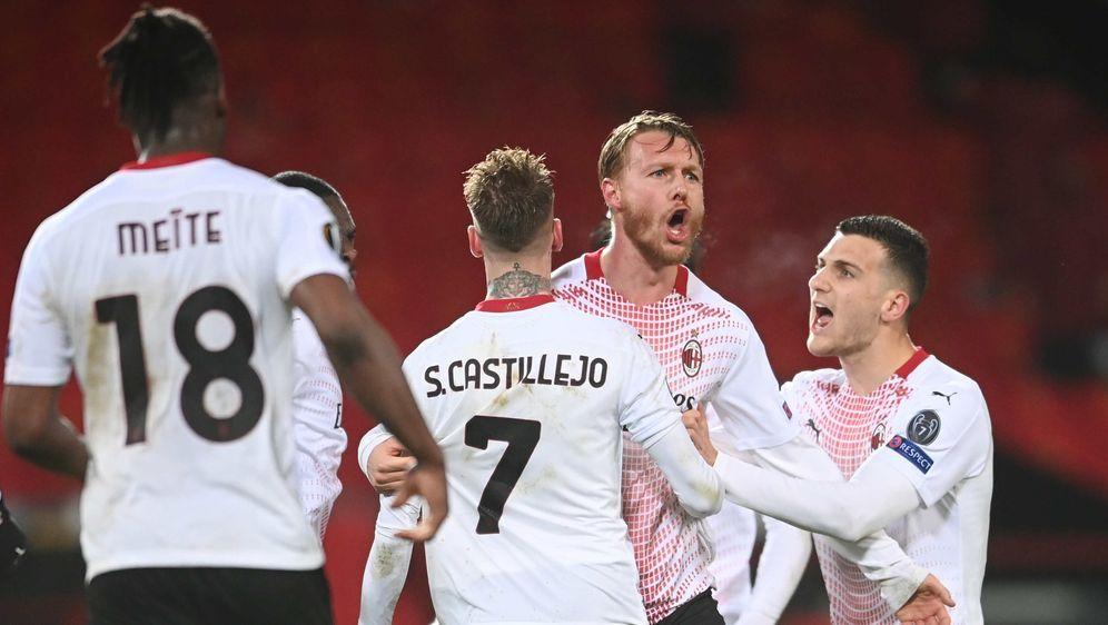 Der AC Mailand holt ein Remis bei Manchester United - Bildquelle: getty