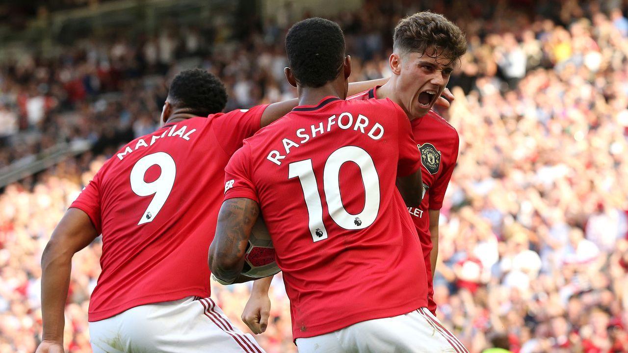Platz 10: Manchester United - Bildquelle: 2019 Getty Images
