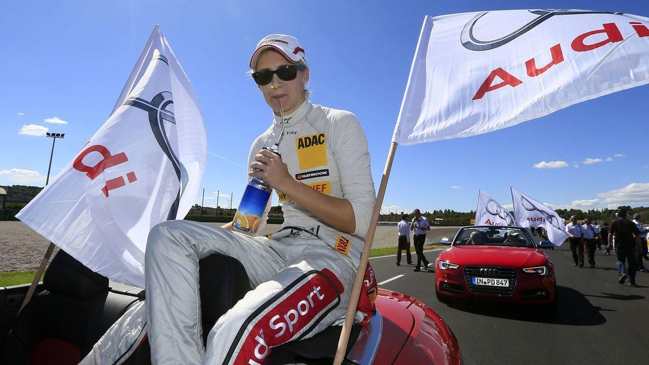 Rahel Frey (DTM-Saisons 2011-2012, 20 Rennen) - Bildquelle: imago sportfotodienst