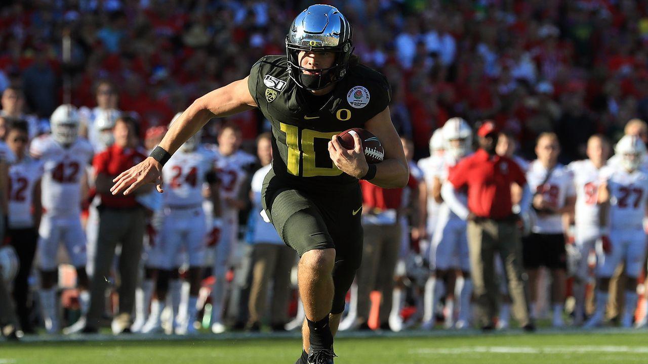 University of Oregon (1 First-Round-Pick) - Bildquelle: 2020 Getty Images