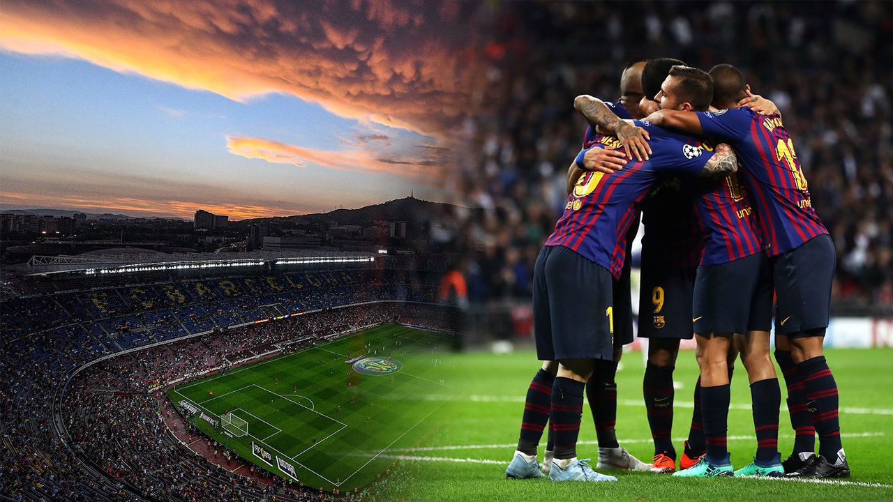 Barcelona bislang nur mit PES aufgefallen - Bildquelle: 2018 Getty Images