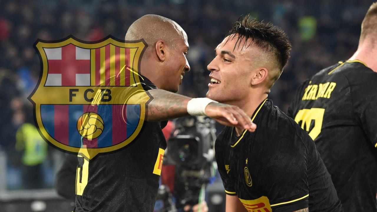 Lautaro Martinez (Inter Mailand) - Bildquelle: imago images/AFLOSPORT