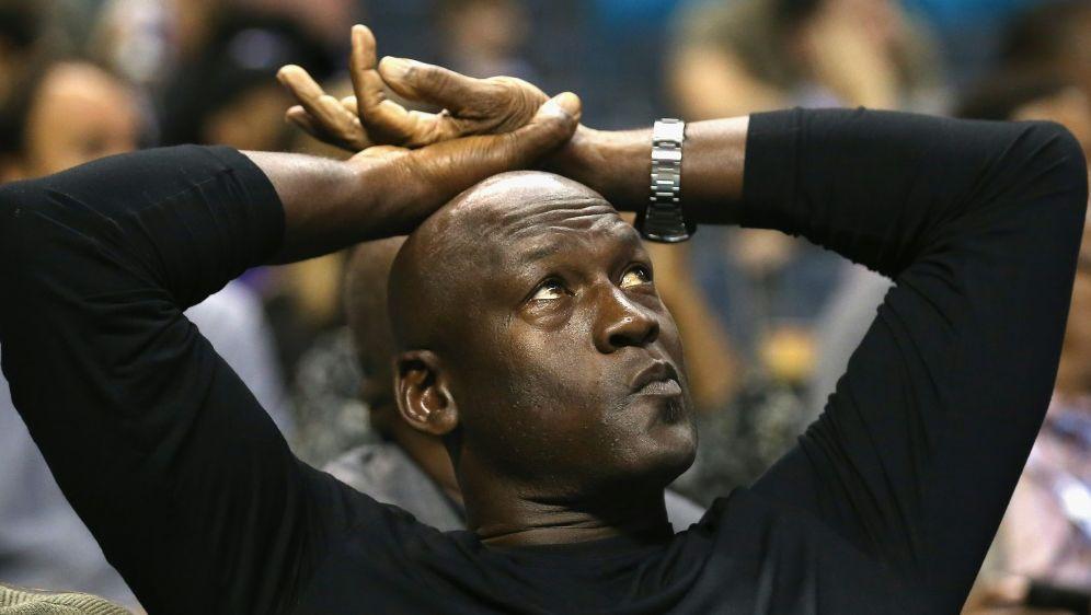 Jordan verkaufte seine Anteile an den Charlotte Hornets - Bildquelle: AFPGETTY IMAGES NORTH AMERICASIDSTREETER LECKA