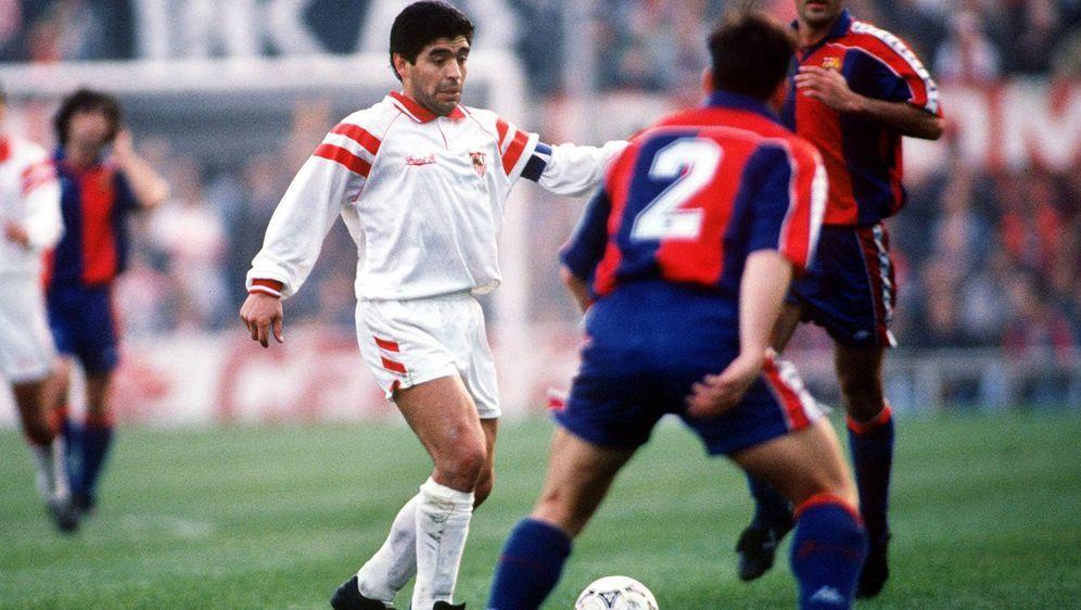 Diego Maradona beim FC Sevilla