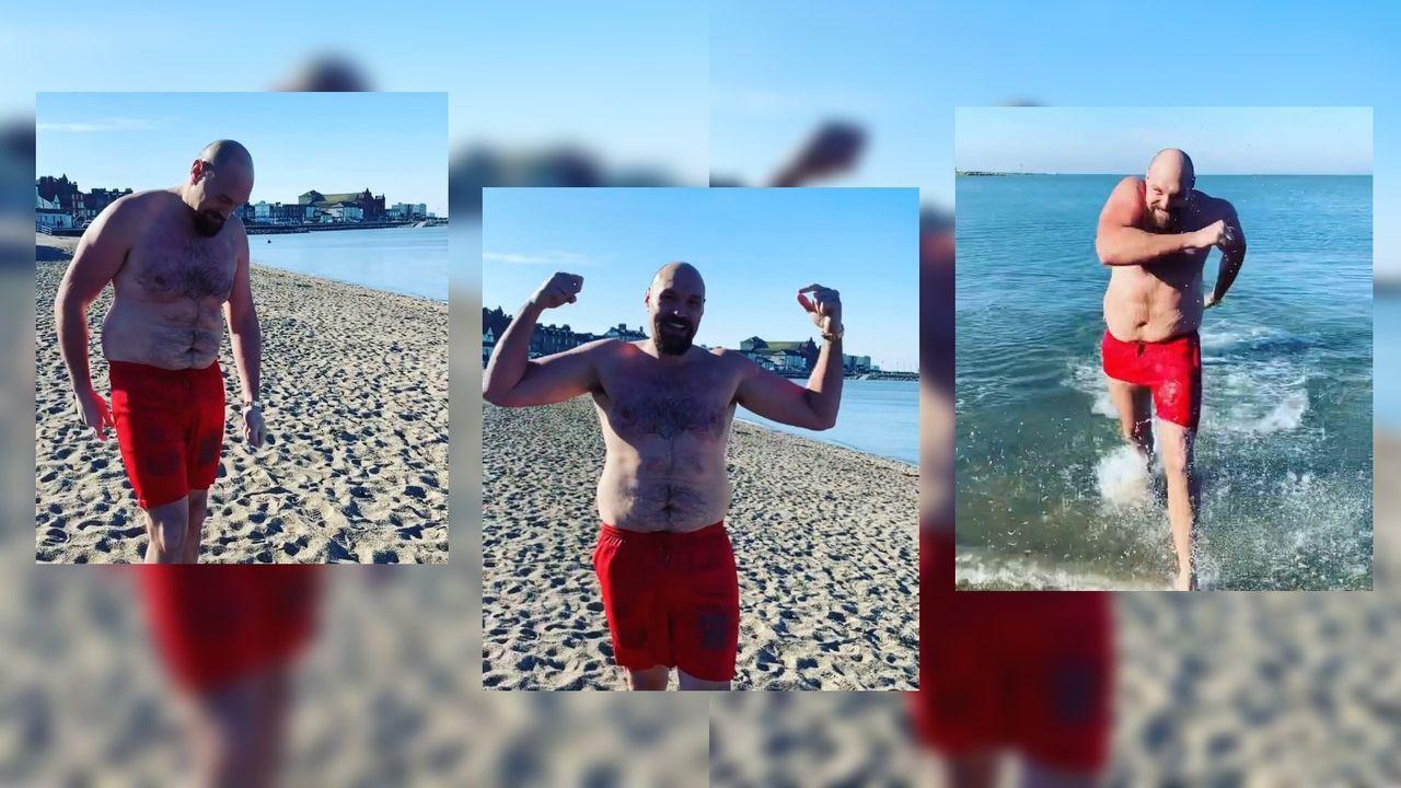 Tyson Fury überrascht vor möglichem Mega-Fight mit pfundigen Aufnahmen - Bildquelle: instagram.com/gypsyking101/