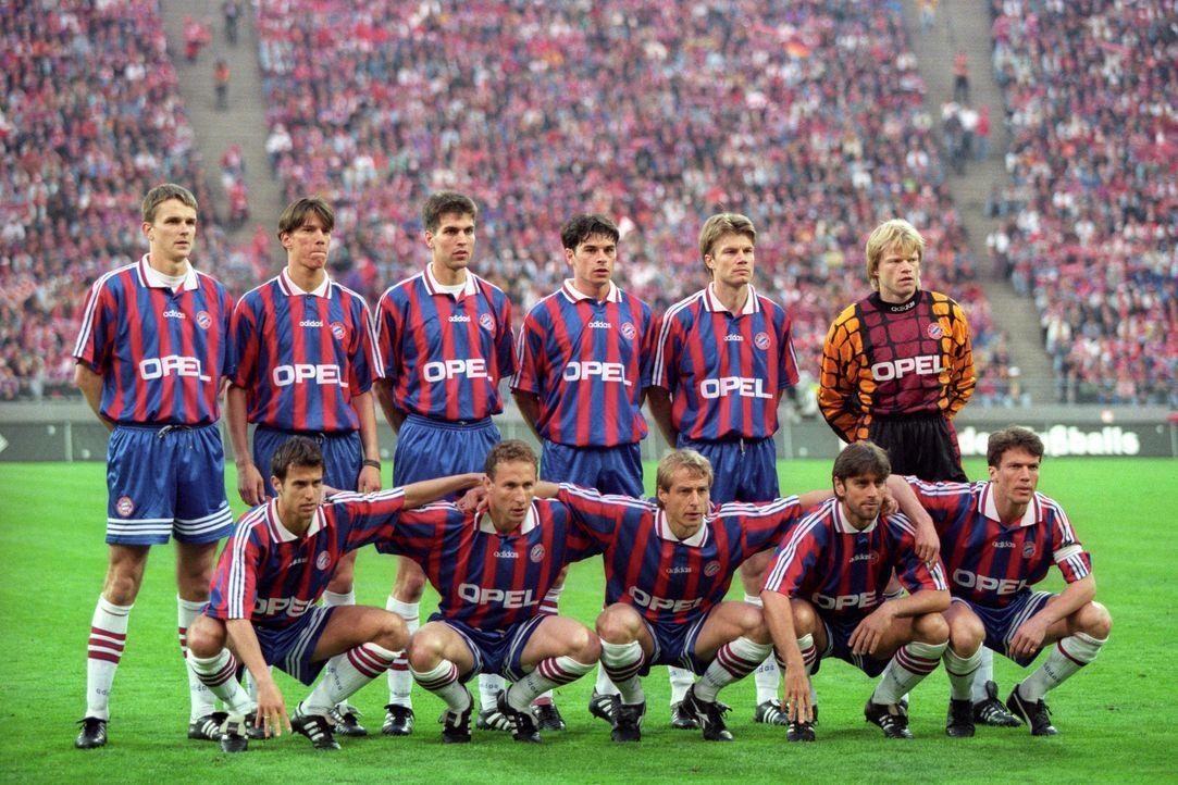 Heimtrikot der Saison 1995-97 - Bildquelle: Imago