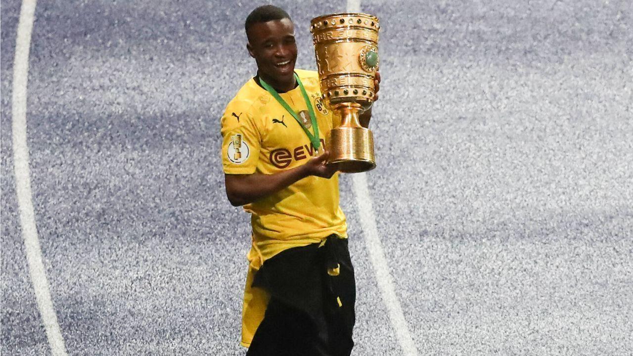 Platz 5: Youssoufa Moukoko (Borussia Dortmund) - Bildquelle: Imago