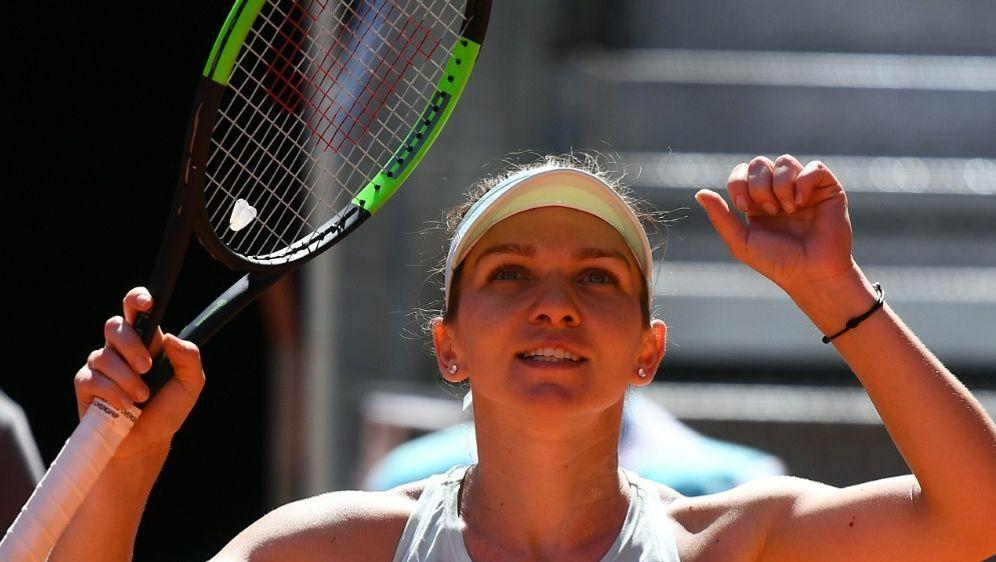 Simona Halep schlug im Halbfinale Belinda Bencic - Bildquelle: AFPSIDGABRIEL BOUYS