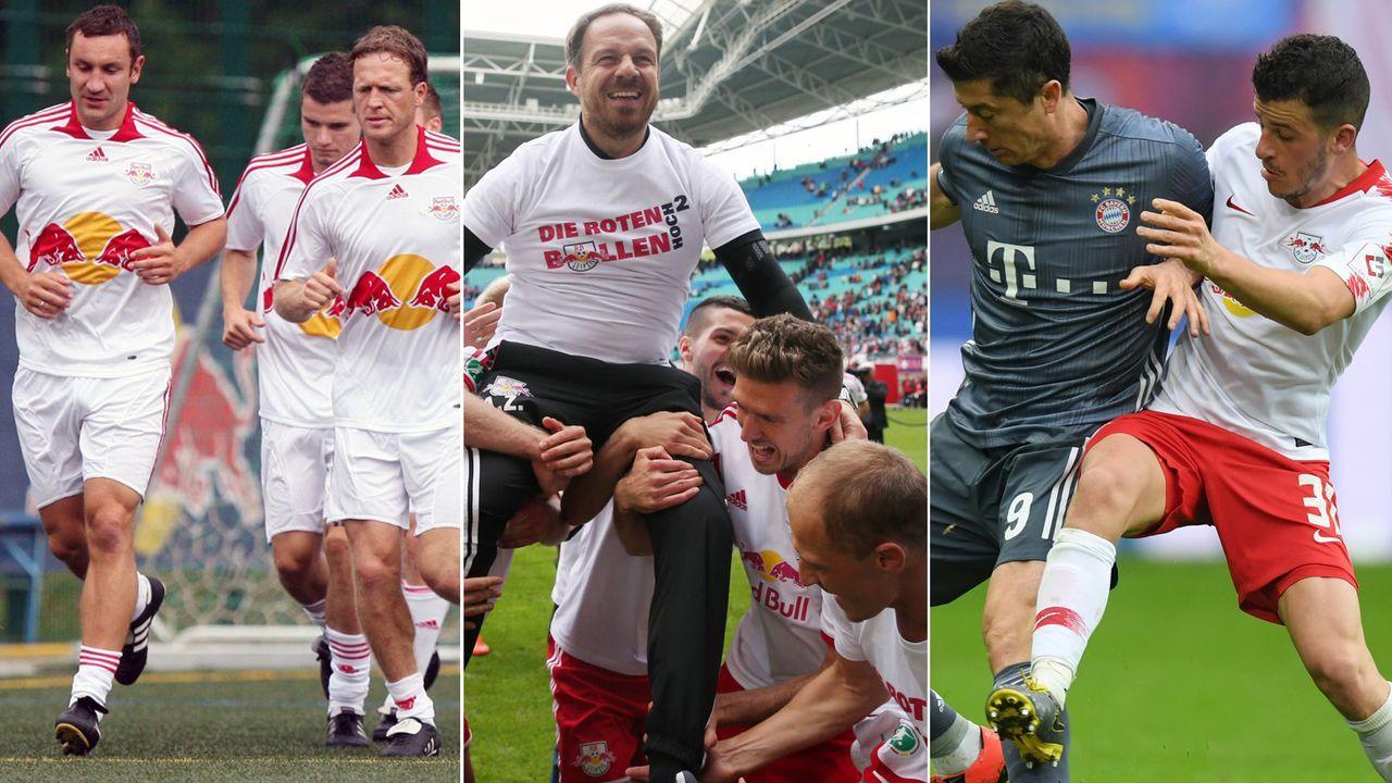 10 Jahre RB Leipzig - die Entwicklung vom Oberligisten zum Bayern-Herausforderer - Bildquelle: Imago/Getty Images