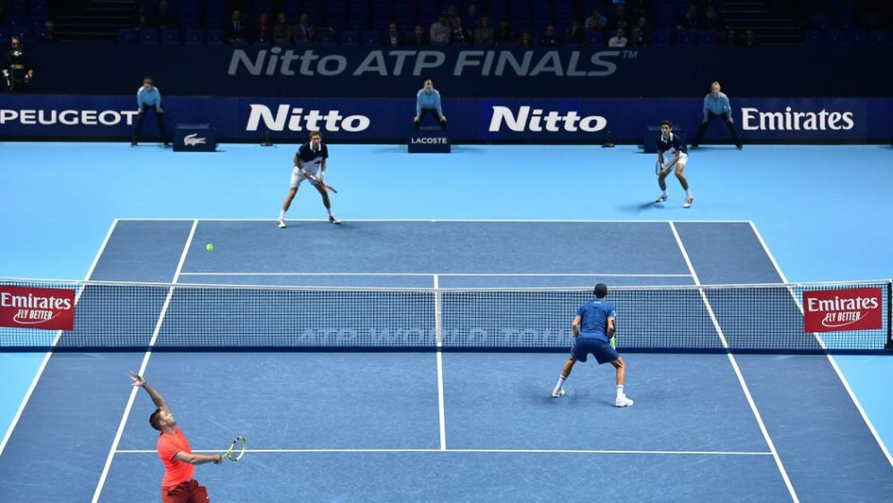 Seit 2009 findet das ATP-Saisonfinale in London statt - Bildquelle: AFPSIDGLYN KIRK