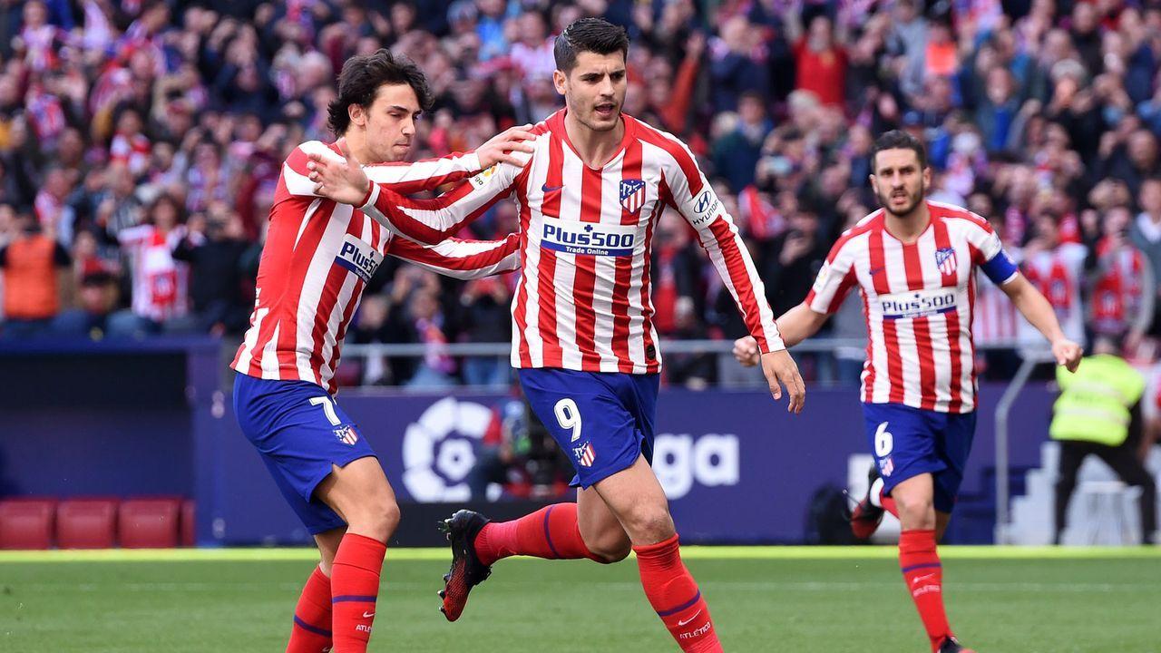 3. Atletico Madrid - Bildquelle: 2020 Getty Images