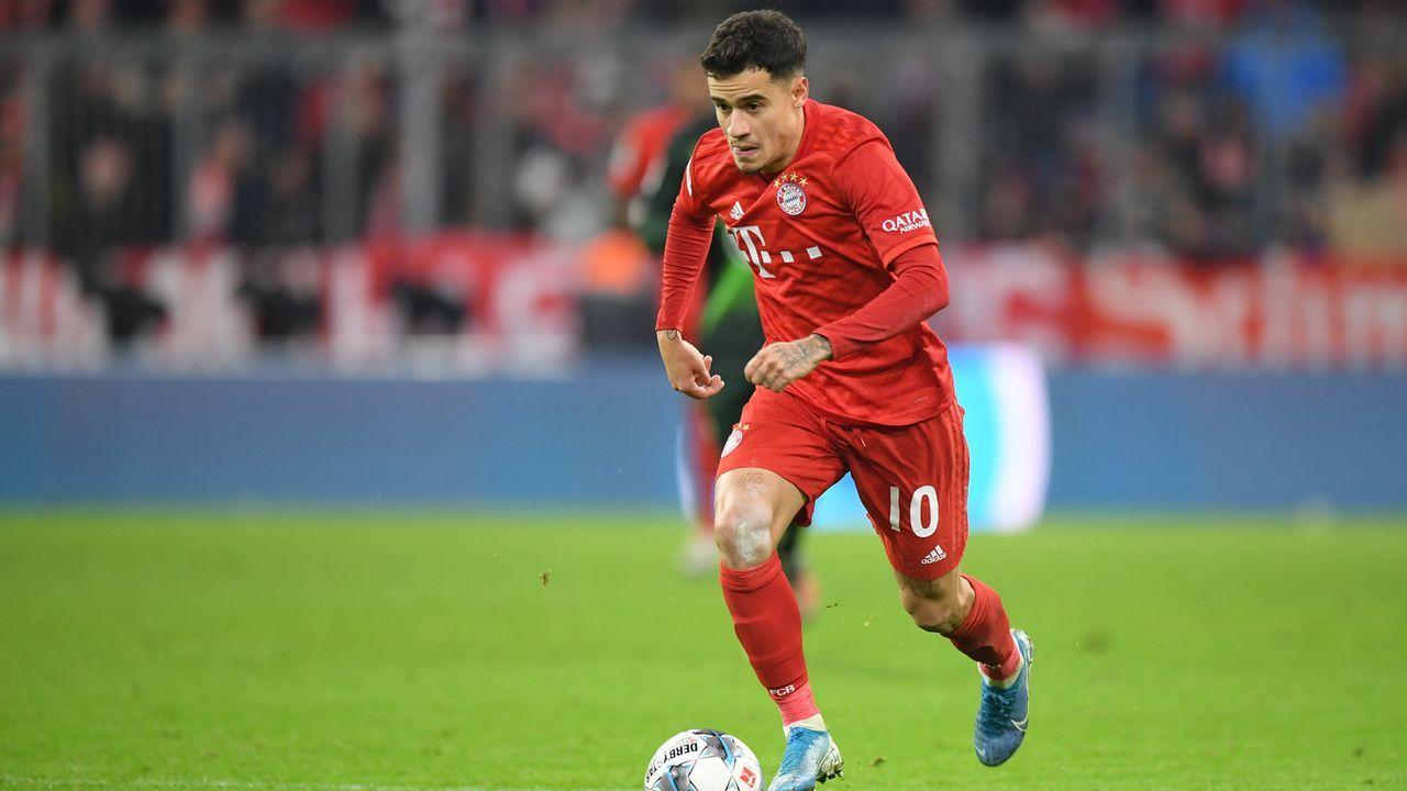 Platz 28 - Philippe Coutinho (FC Bayern München) - Bildquelle: 2019 Getty Images