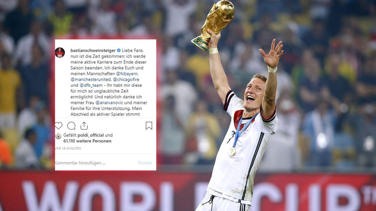 Bastian Schweinsteiger - Bildquelle: imago