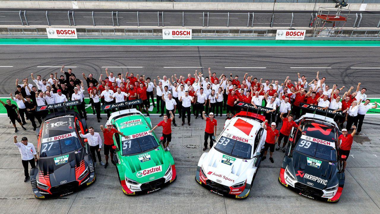 """""""Was für ein trauriger Tag"""": Reaktionen zum DTM-Ausstieg von Audi - Bildquelle: Audi Communications Motorsport / Michael Kunkel ### Audi Communications Motorsport / Michael Kunkel ### free of charge for press"""