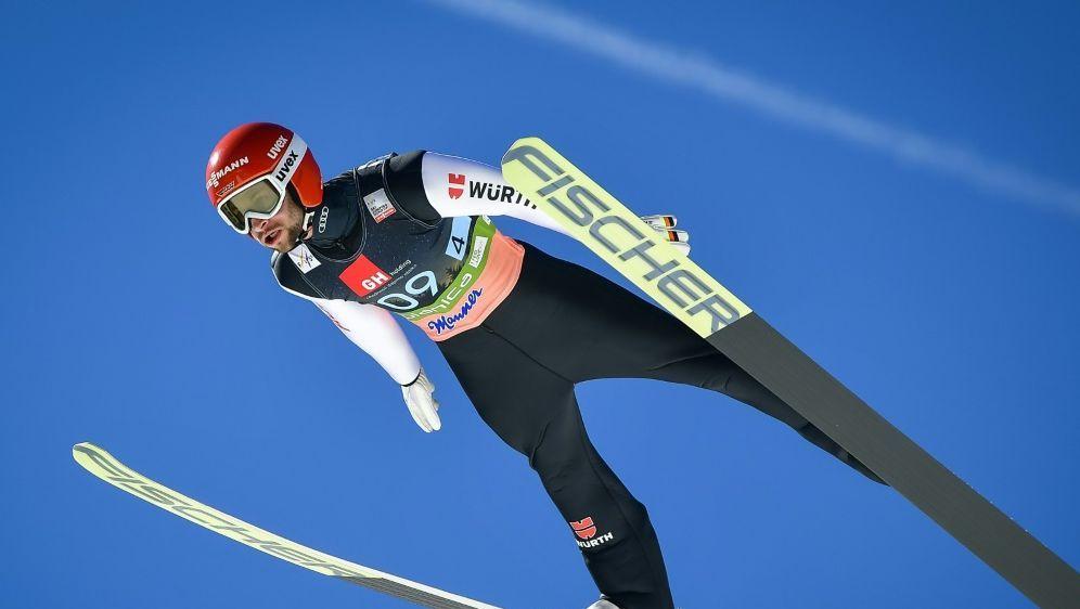 Eisenbichler ist vor dem letzten Flug der Saison Vierter - Bildquelle: AFPSIDJURE MAKOVEC