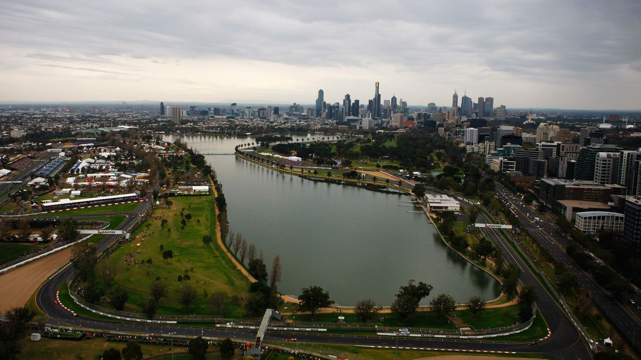 Albert Park Melbourne, Australien  - Bildquelle: 2010 Getty Images