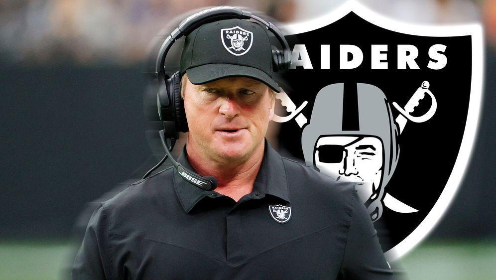 Trat bei den Las Vegas Raiders zurück: Head Coach Jon Gruden - Bildquelle: Getty Images