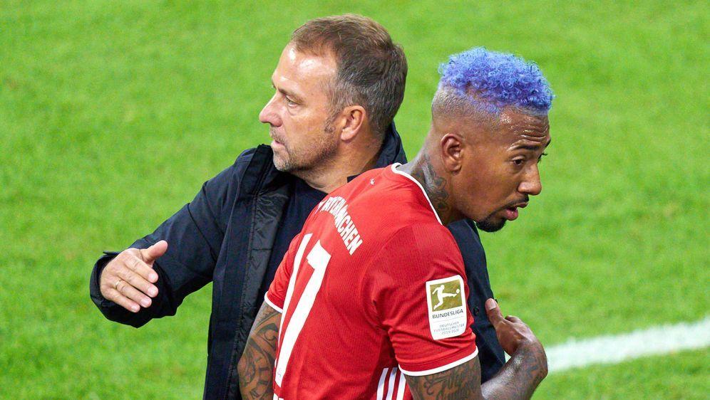 Jerome Boateng wurde unter Hansi Flick wieder zum Stammspieler beim FC Bayer... - Bildquelle: imago