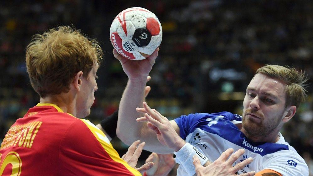 Island setzte sich mit 24:22 gegen Mazedonien durch - Bildquelle: AFPSIDCHRISTOF STACHE