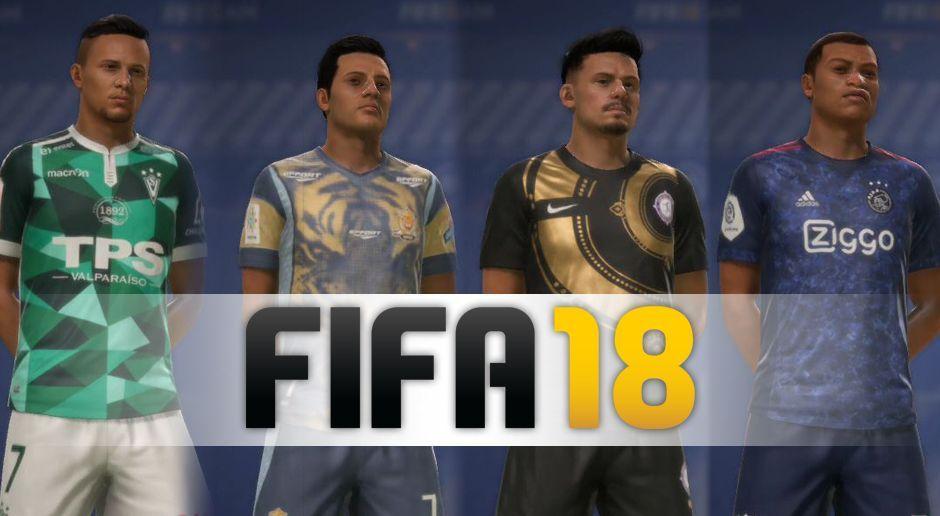 huge selection of 215d5 4fe43 FIFA 18: Zehn spektakuläre Trikots für Euer Ultimate Team