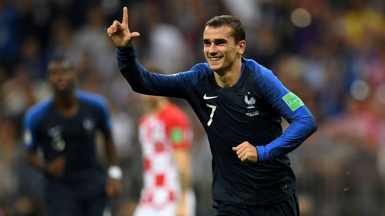 Silver Boot: Antoine Griezmann (Frankreich) - Bildquelle: 2018 Getty Images